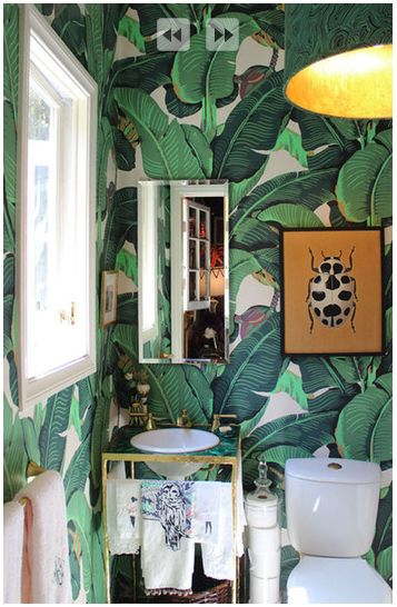 Reminds Me Of Blanches Bedroom Wallpaper On The Golden Girls Ie Amazing