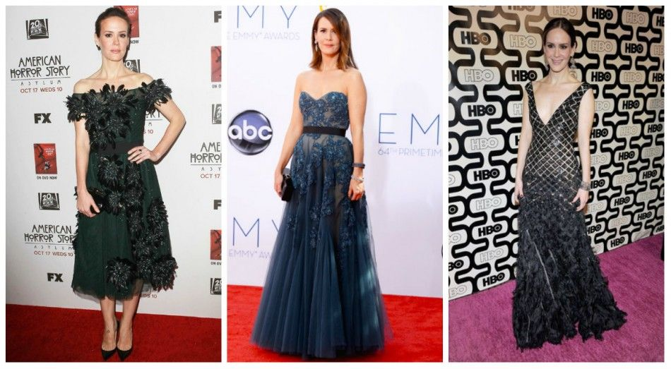 Sarah Paulson Emmy Watch: See 'American Horror Story' Star's Best Red Carpet Gowns [SLIDESHOW] - Entertainment & Stars