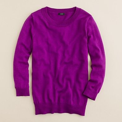 This is the best sweater I have ever owned. Going back to get it in more colors. (J.Crew Tippi Sweater- $72.50)