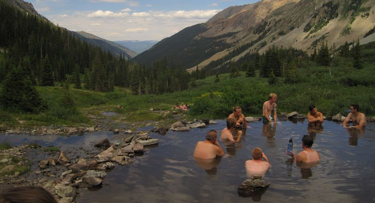 The Best Hot Springs Hikes Hot Springs Colorado Trail