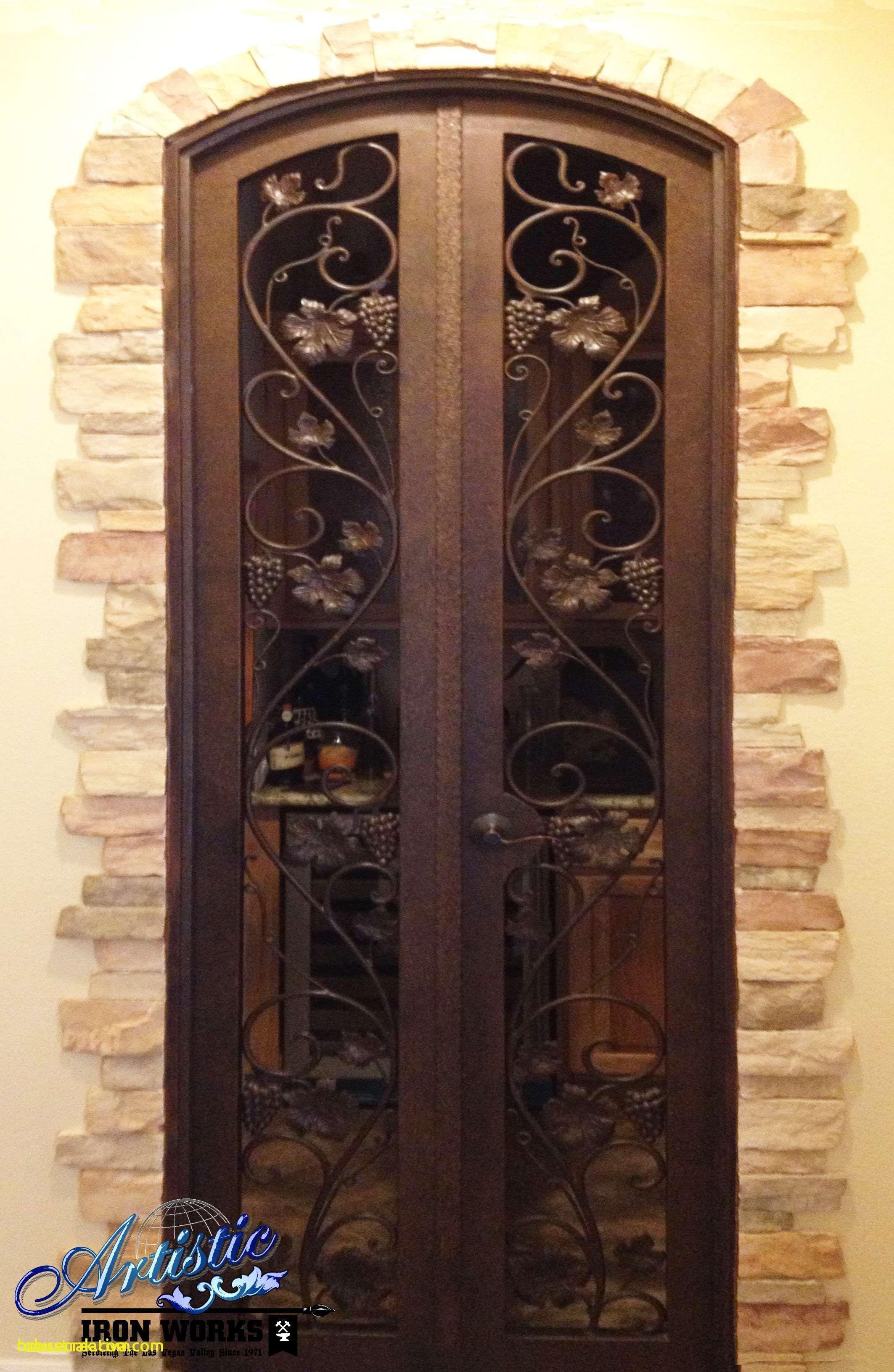 Fresh Wine Room Doors Wrought Iron Homedecoration