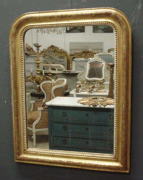 antique mirror - Antique French gilt Louis Philippe mirror from www.jasperjacks.com