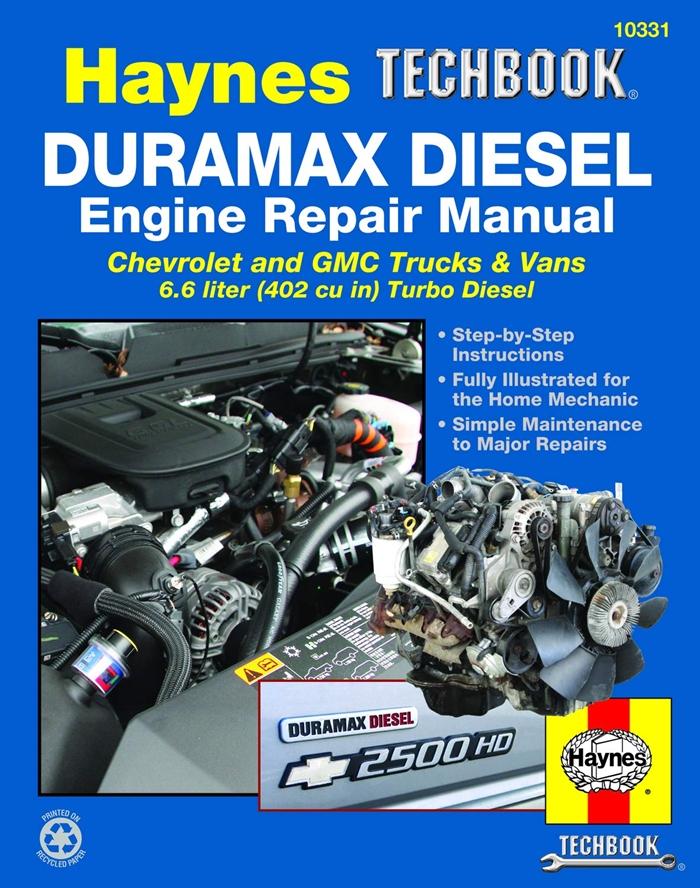 Duramax Diesel Engine For Chevrolet Gmc Trucks Vans 01 12 Haynes Techbook By Haynes Haynes Manuals N America Inc Duramax Diesel Gmc Trucks Engine Repair