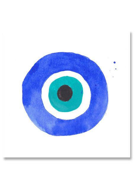 Watercolors Evil Eye Art Eyes Wallpaper Evil Eye Tattoo
