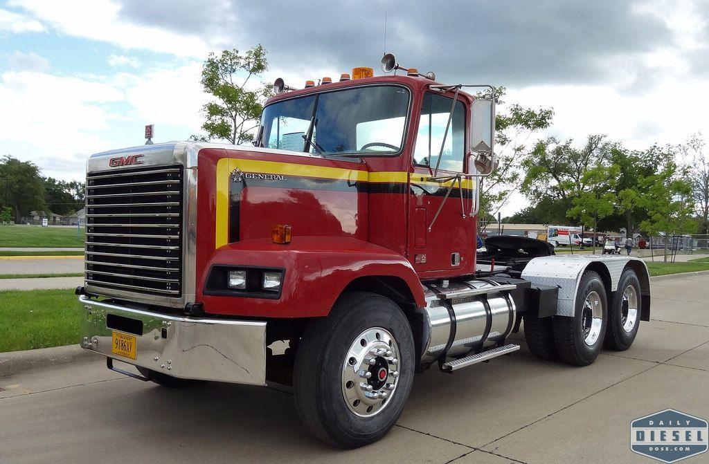 Gmc General Sba Tractor Trailer Truck Gmc Trucks Trucks