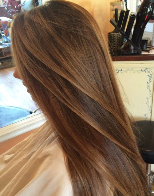 Butterscotch Balayage Pure Color By American Culture Hair