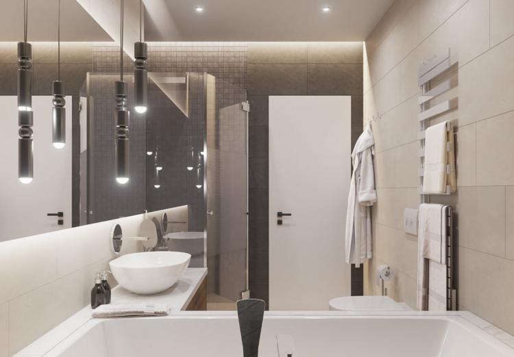 Badezimmer Badewanne ~ Schiefer black rustic fliesen auch im badezimmer ein hingucker