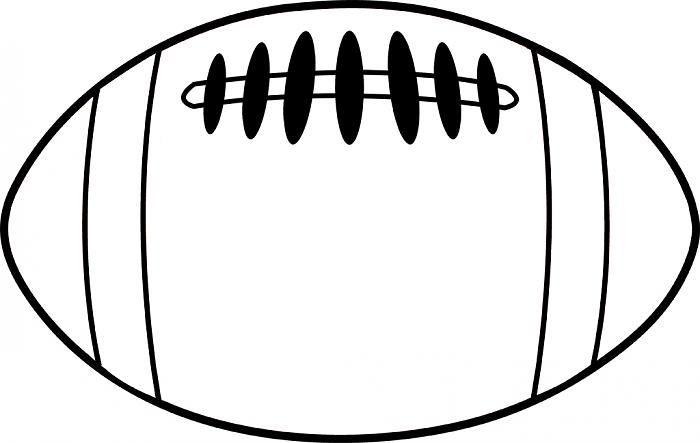 free football outline clipart image 1524 football helmet rh pinterest com foot outline clip art football outline clip art free