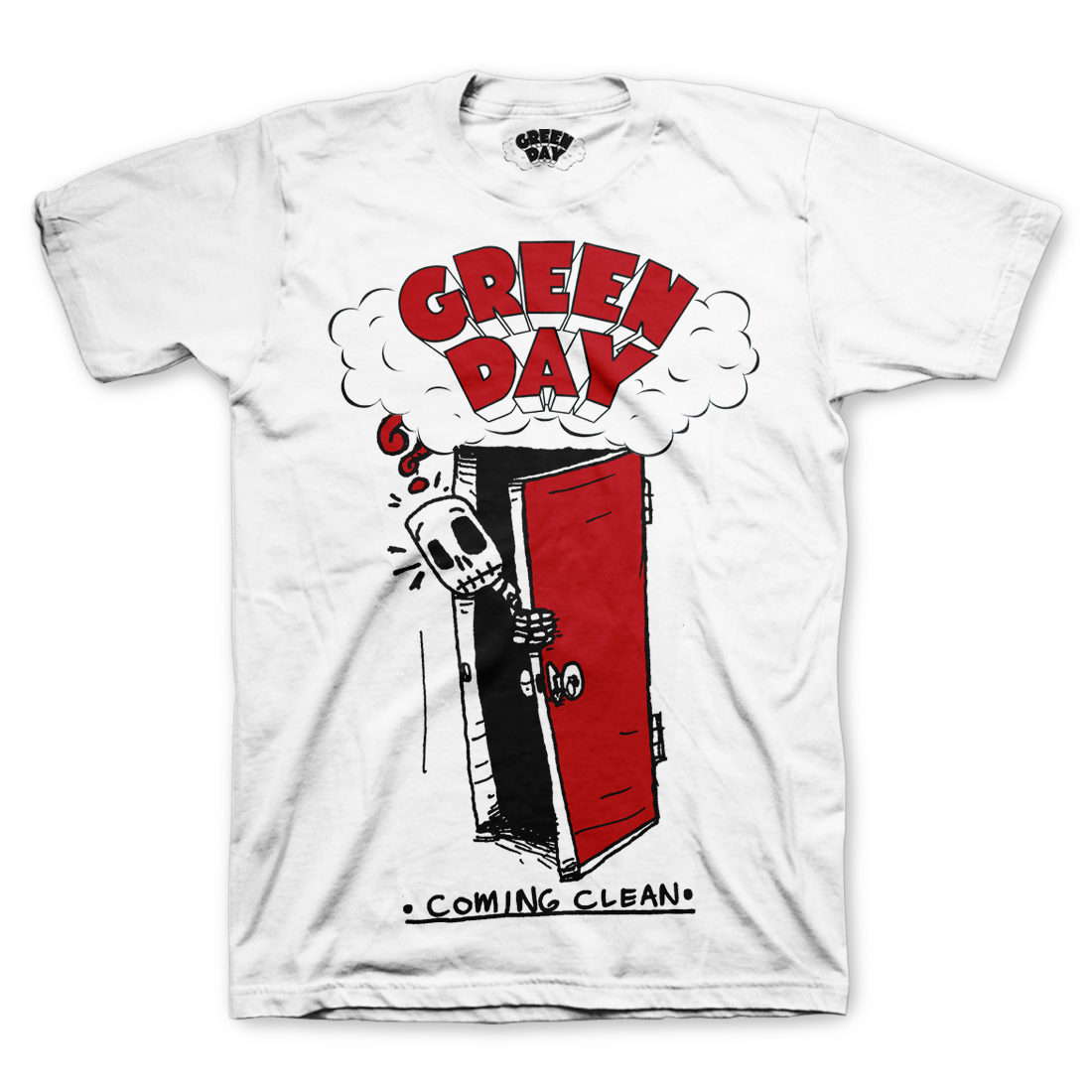 Coming Clean T Shirt Green Day Store Greenday