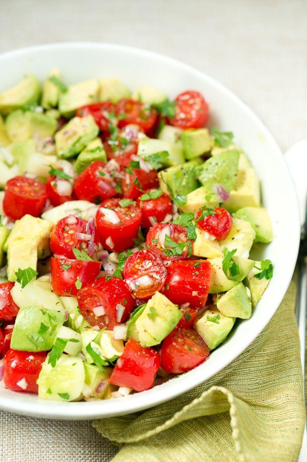 recipe: avocado tomato salad lemonade [39]