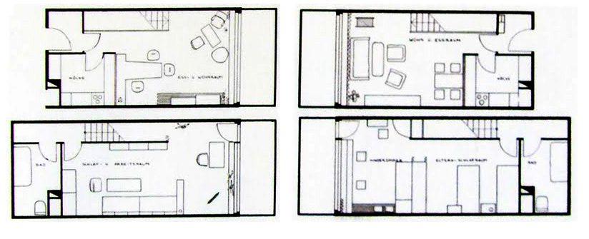 ad classics unit d habition berlin le corbusier le corbusier berlin germany and classic. Black Bedroom Furniture Sets. Home Design Ideas