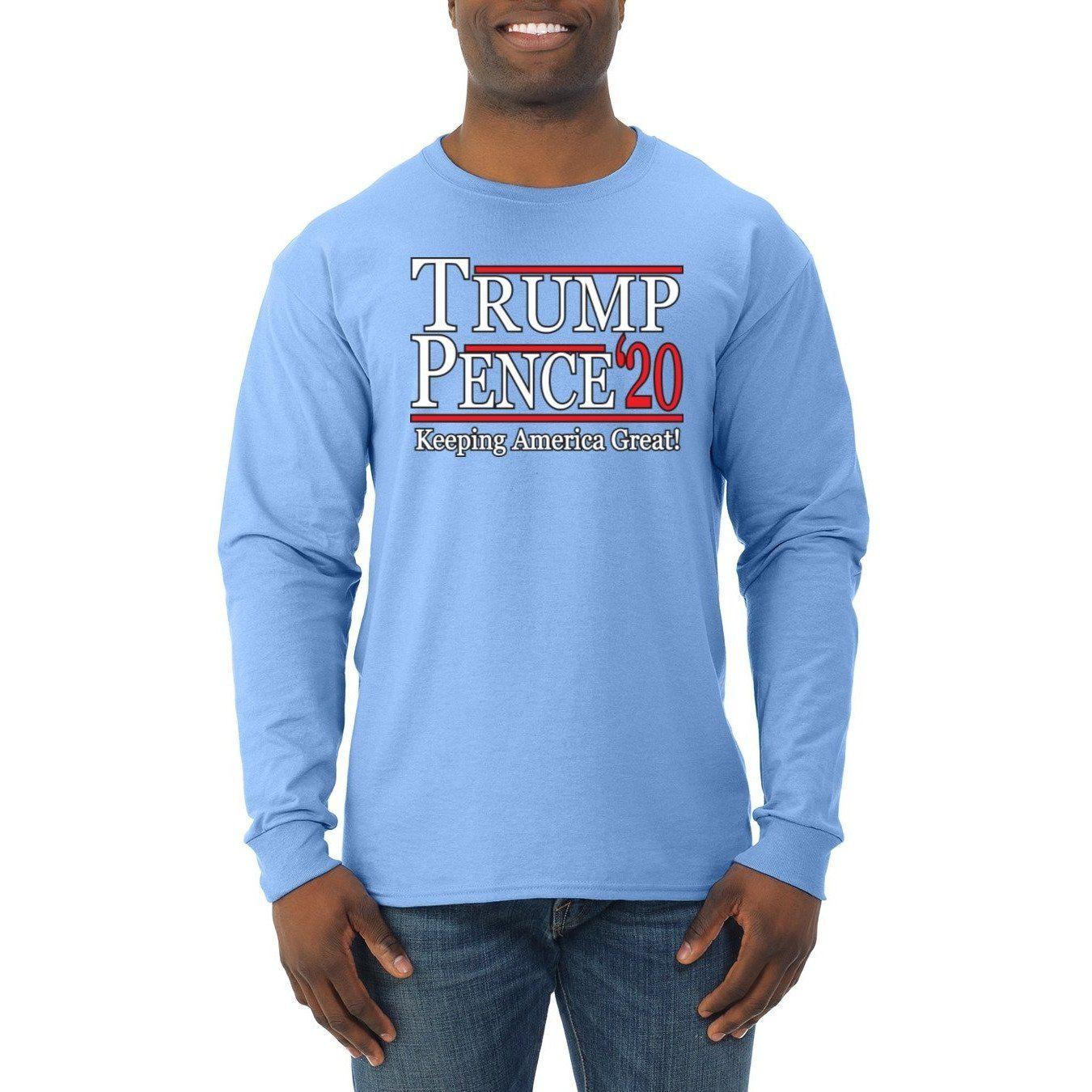 Comical Shirt Mens Keeping America Great Trump 2020 Sweatshirt