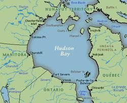 Map Hudson Bay Canada Hudson Bay   sea, Canada   Hudson bay, Ontario map, Hudson