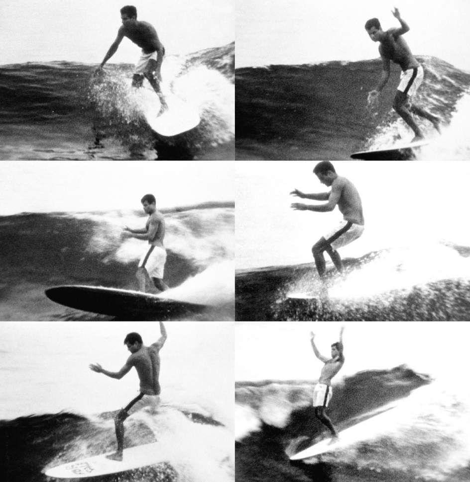 Mickey Dora, Malibu, California, 1962