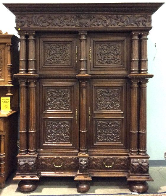 Early 19th Century German Oak Schrank Sold 1050 Auction Oak