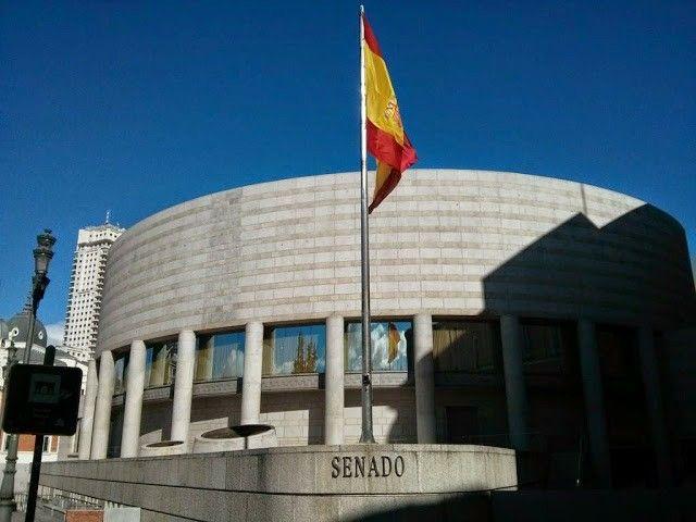 Nuevo edificio del Senado. Madrid España.