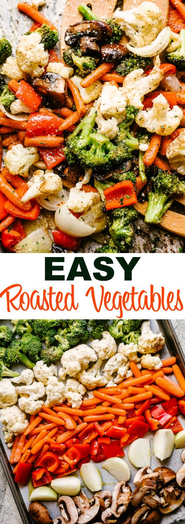 Easy Oven Roasted Vegetables Recipe | Diethood