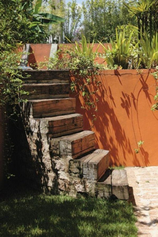 garden design ideas garden design garden path on a slope stairs stone
