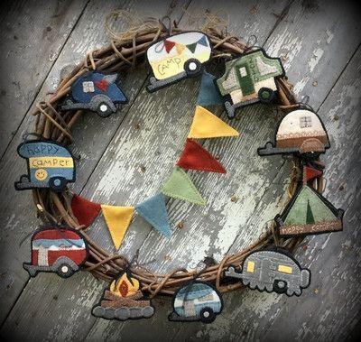 Happy Campers – Wooden Spool Designs#campers