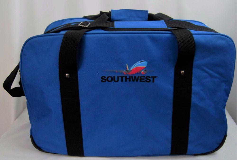 Southwest Airlines Large Carry On Duffle Bag Adj Shoulder