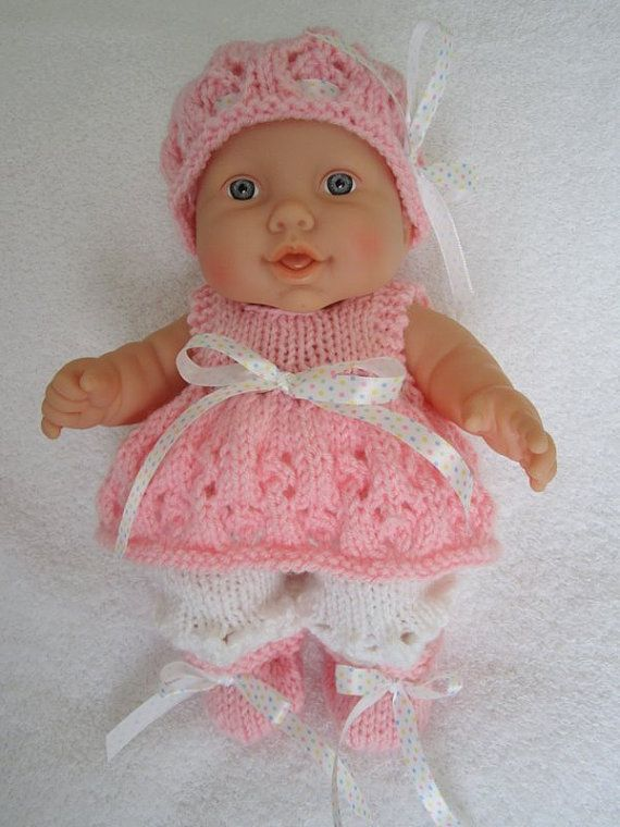 Knit Instant Download Pattern Snowflake Lace Angel Top Set For 10 Inch Berenguer Lots To Love Baby Doll In 2020 Knitting Baby Dolls Dolls