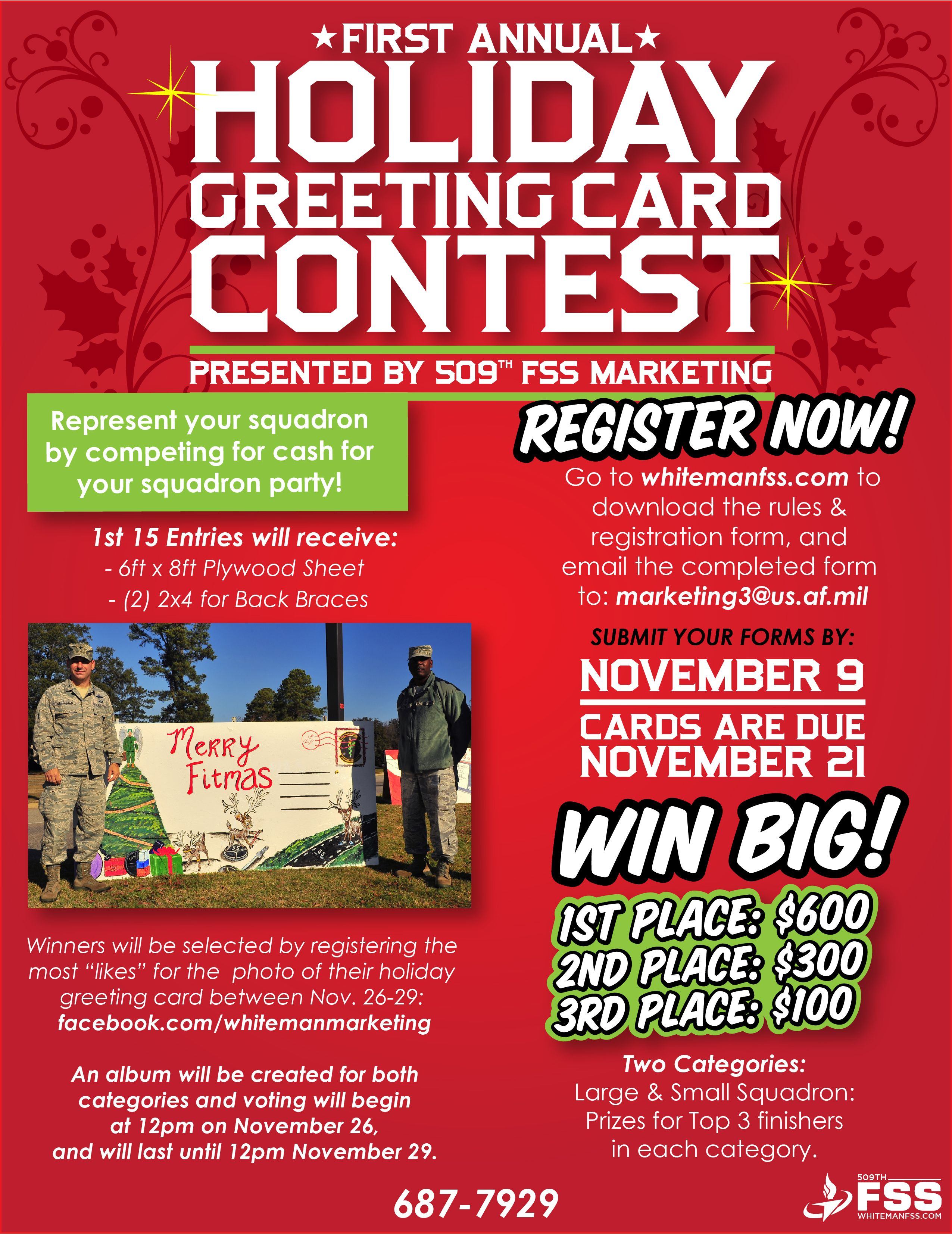 Greeting Card Contest With Images Holiday Greeting Cards