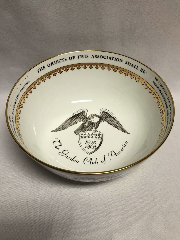 Wedgwood Garden Club of America 50th Anniversary Bowl & Wedgwood Garden Club of America 50th Anniversary Bowl | Wedgwood ...