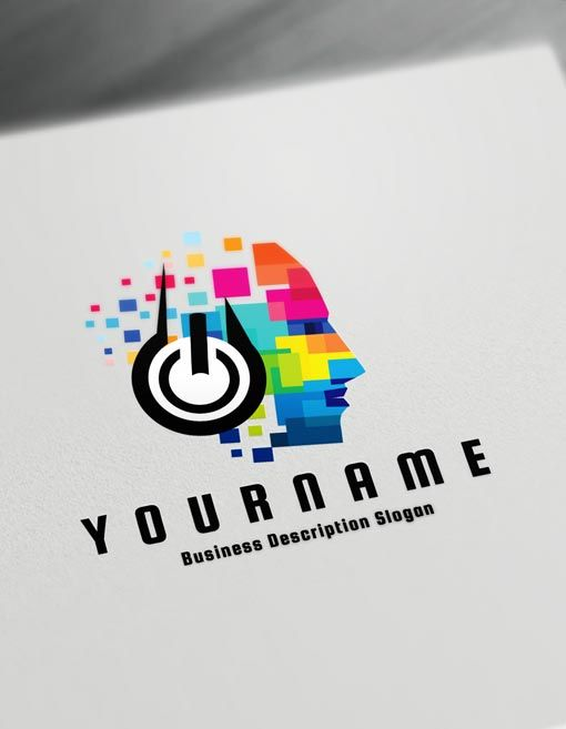 Music Logo Maker Online Create A Logo D J Logos Online Logo Design Online Logo Design Logo Design Free Templates Dj Logo