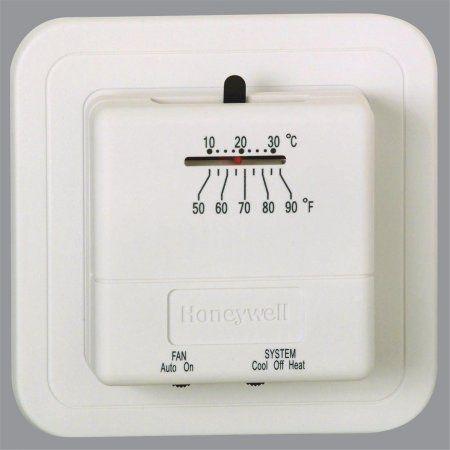 honeywell economy heat cool manual thermostat white walmart and rh pinterest co uk Honeywell Programmable Thermostat Manual PDF Honeywell Programmable Thermostat Manual PDF