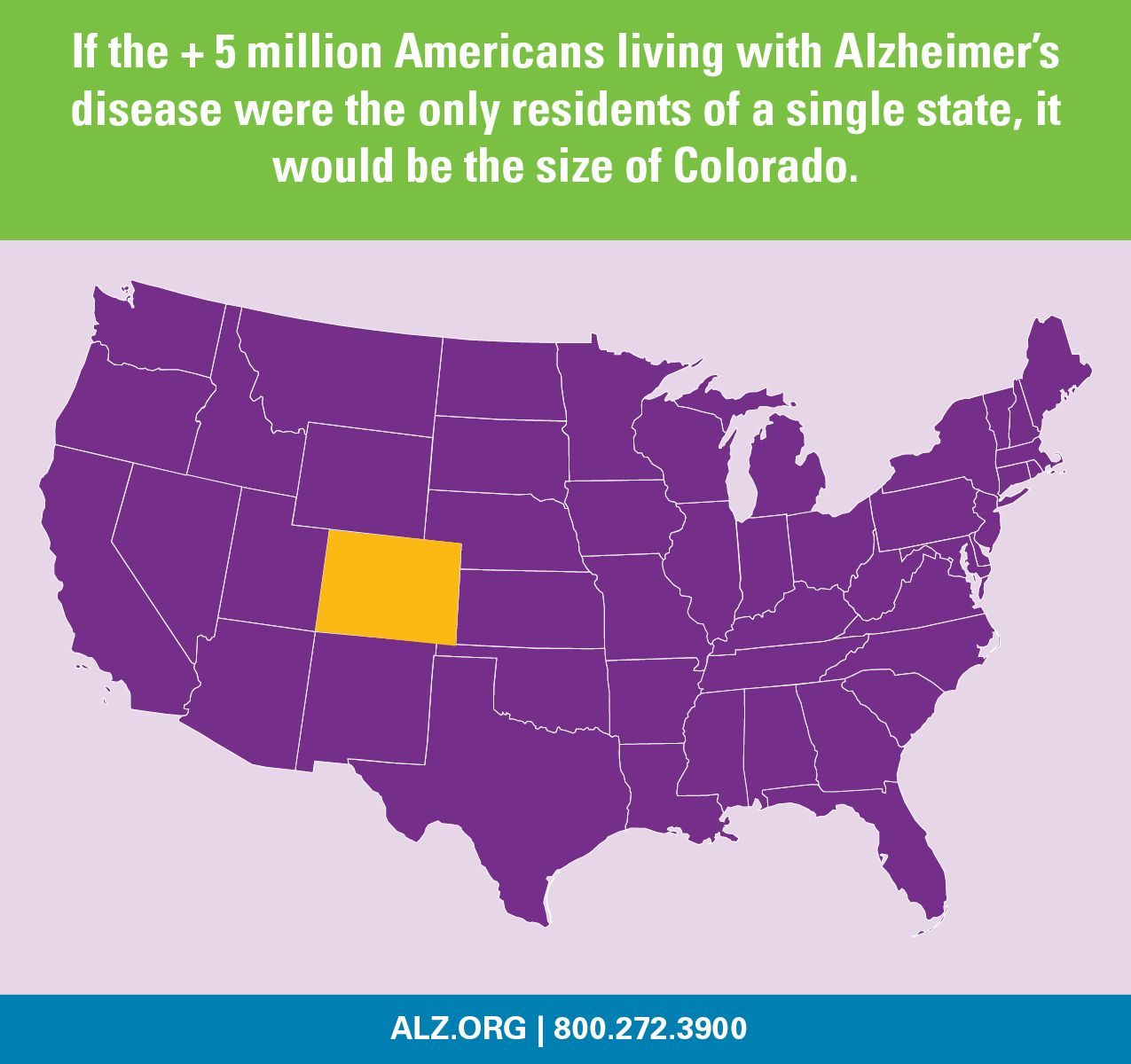 Alzheimer's Fact: If The +5 Million Americans Living With