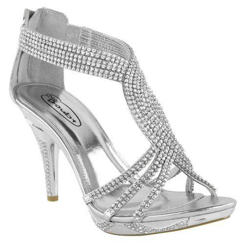 fashion thirsty chaussures femme diamant talon haut mariage mari e soir e synth tique 39. Black Bedroom Furniture Sets. Home Design Ideas