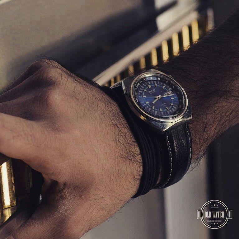 Vintage Seiko Automatic 17jewels Daydate ساعت قديمي اتوماتيك سيكو Price 525 000 T Mesh Strap Watch Jewelry Shop Mesh Strap