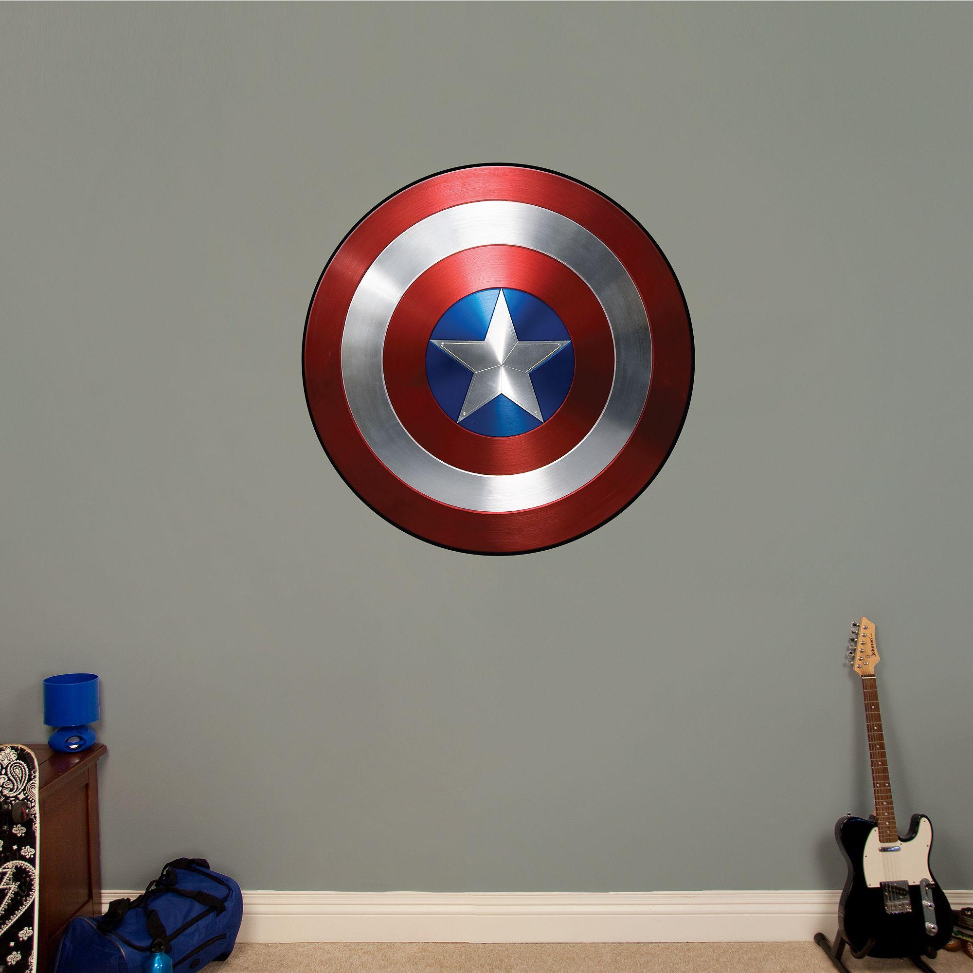 Captain America: The Winter Soldier - Vibranium Shield  Deco