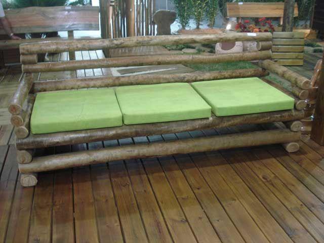 Sofas Rusticos De Madeira Pesquisa Google Com Imagens Sofa