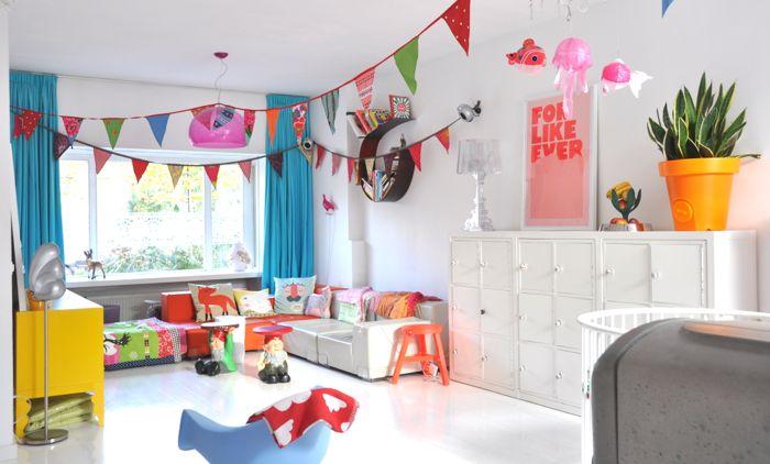 Quero essa casa colorida!