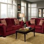 Decoration, Red Sofa Living Room Of Beautiful Home Interiors: Tips to Decorate Your Red-Couch Living Room