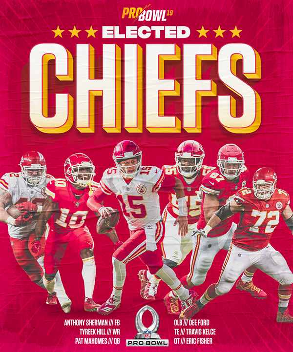 Pro Bowl Photos Videos Logos Illustrations And Branding On Behance Kansas City Chiefs Kansas City Chiefs Football Chiefs Football