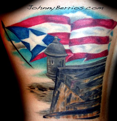 Puerto Rican Flag Tattoos Tattoomagz Com Tattoo Designs Ink Flag Tattoo Tattoos Tatoo Designs