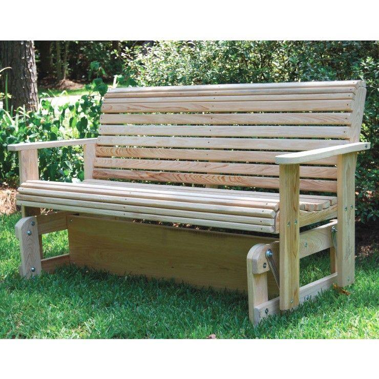 Superb Seat Bench Glider For Porch