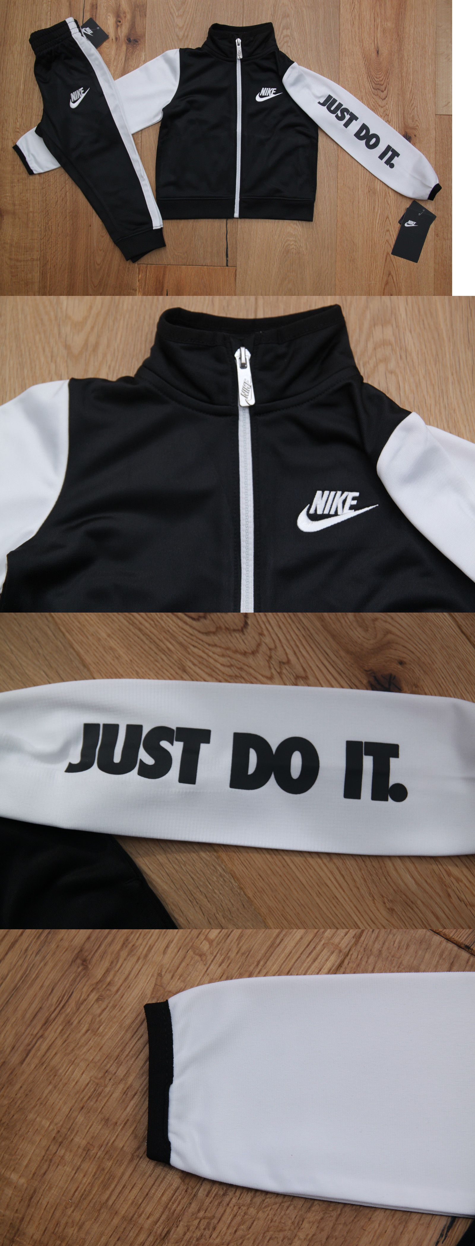 a340d73a394 ... Outfits and Sets 147333 Nike Toddler Boy 2 Piece Jogging Set ~ Tracksuit  ~ Black ...