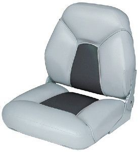 Fold down seat gry/charcoal | _products | Pinterest | Boat