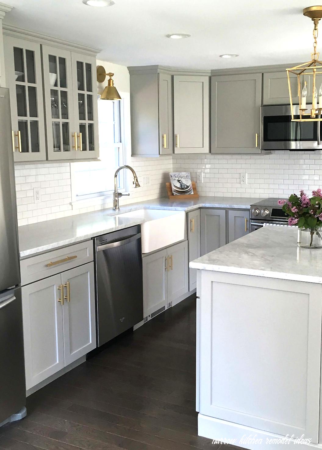 Narrow Kitchen Remodel Ideas