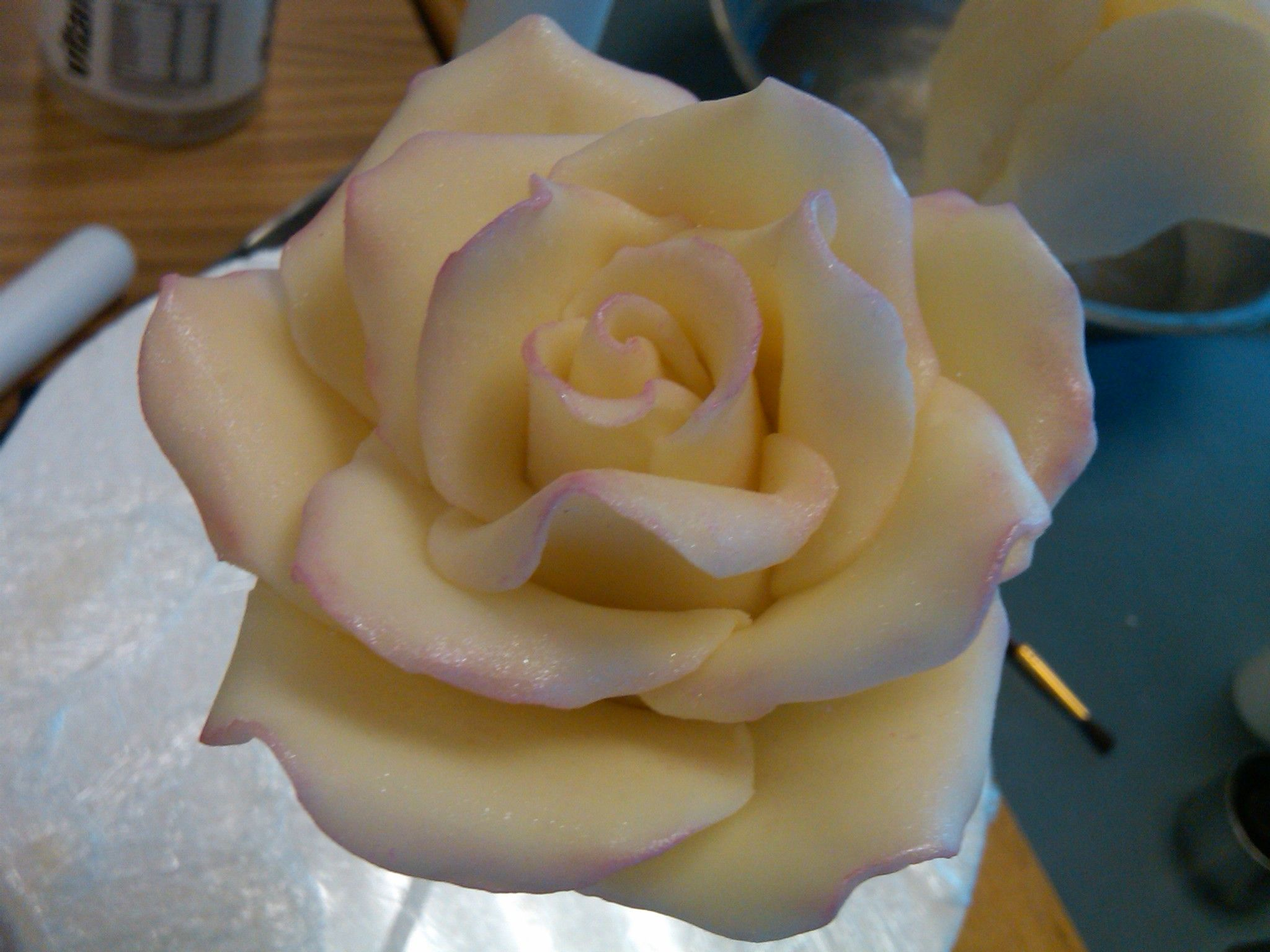 Modeling Chocolate Rose - This rose is made out of modeling ...