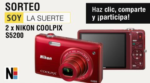 #Sorteosanvalentin de Nikon... a ver si hay suerte!!
