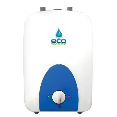Ecosmart 4 Gal 1 Year 120 Volt Electric Mini Tank Point Of Use Water Heater Eco Mini 4 Water Heater Tankless Water Heater Heater