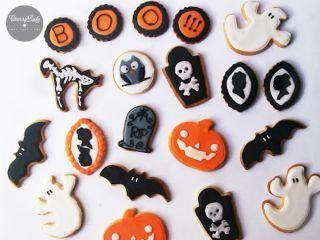 Galletas cookies halloween decoradas, Receta Petitchef