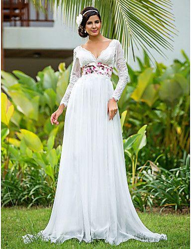 vestidos de novia con manga y ampones | Novias | Pinterest ...