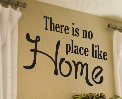 There is No Place Like Home Family Love Living Room Quote Decal ...