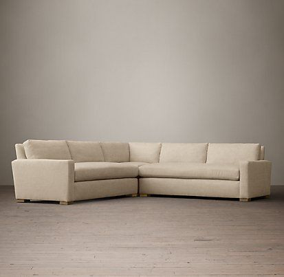 The Petite Maxwell Sectionals Restoration Hardware Living Room Sectional Sectional Corner Sectional