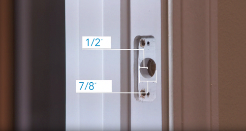 How To Install A Handleset On Your Front Door Schlage Frontdoor Front Door Deadbolt Lock